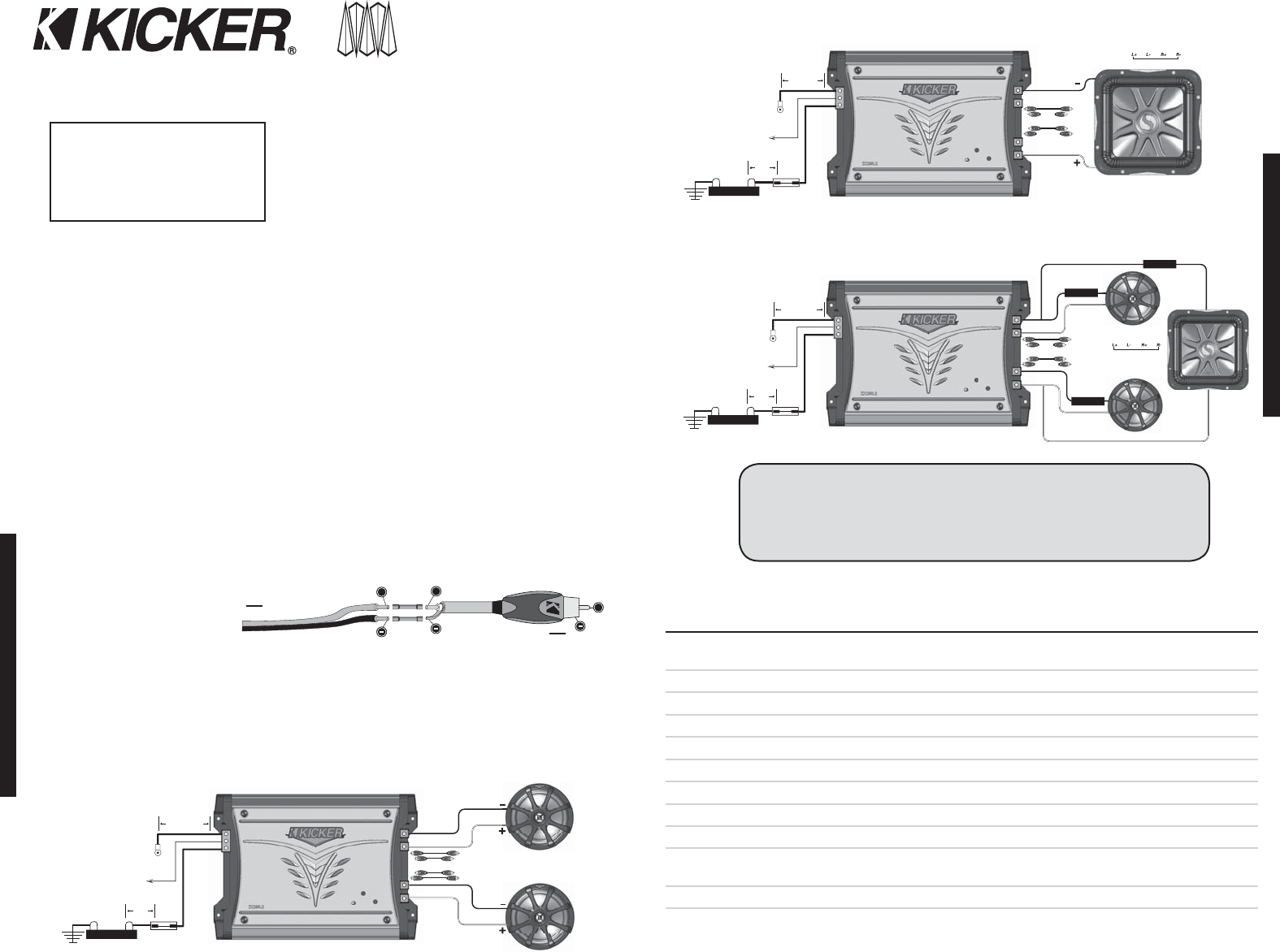 hight resolution of kicker zx350 2 stereo amplifier user manual