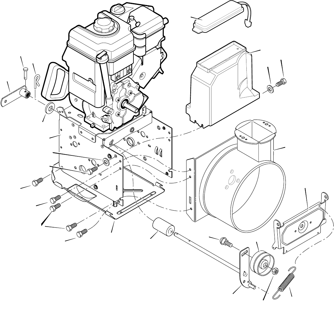 Page 40 of John Deere Snow Blower ST1028 User Guide