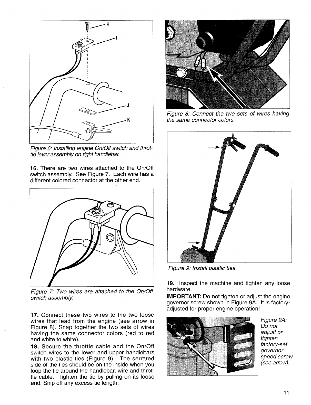 Page 11 of Troy-Bilt Tiller 12157 User Guide