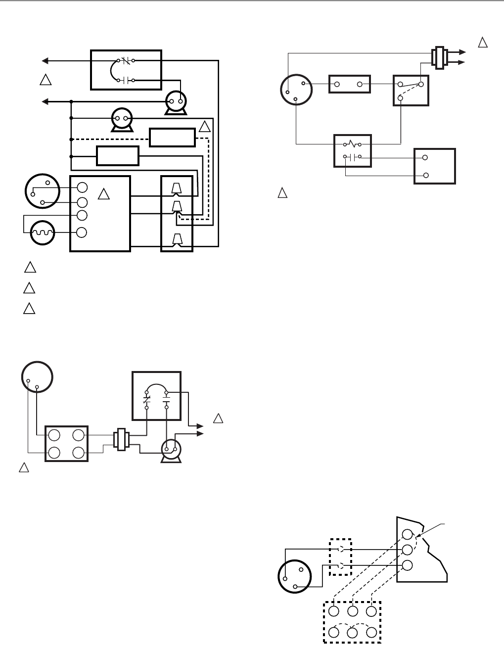 Page 6 of Honeywell Thermostat T87F STANDARD User Guide