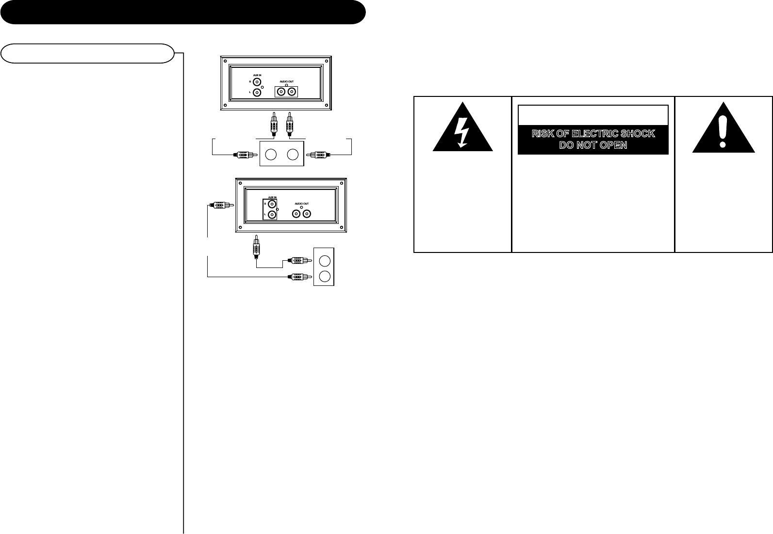 Page 2 of Crosley Radio Turntable CR245 User Guide