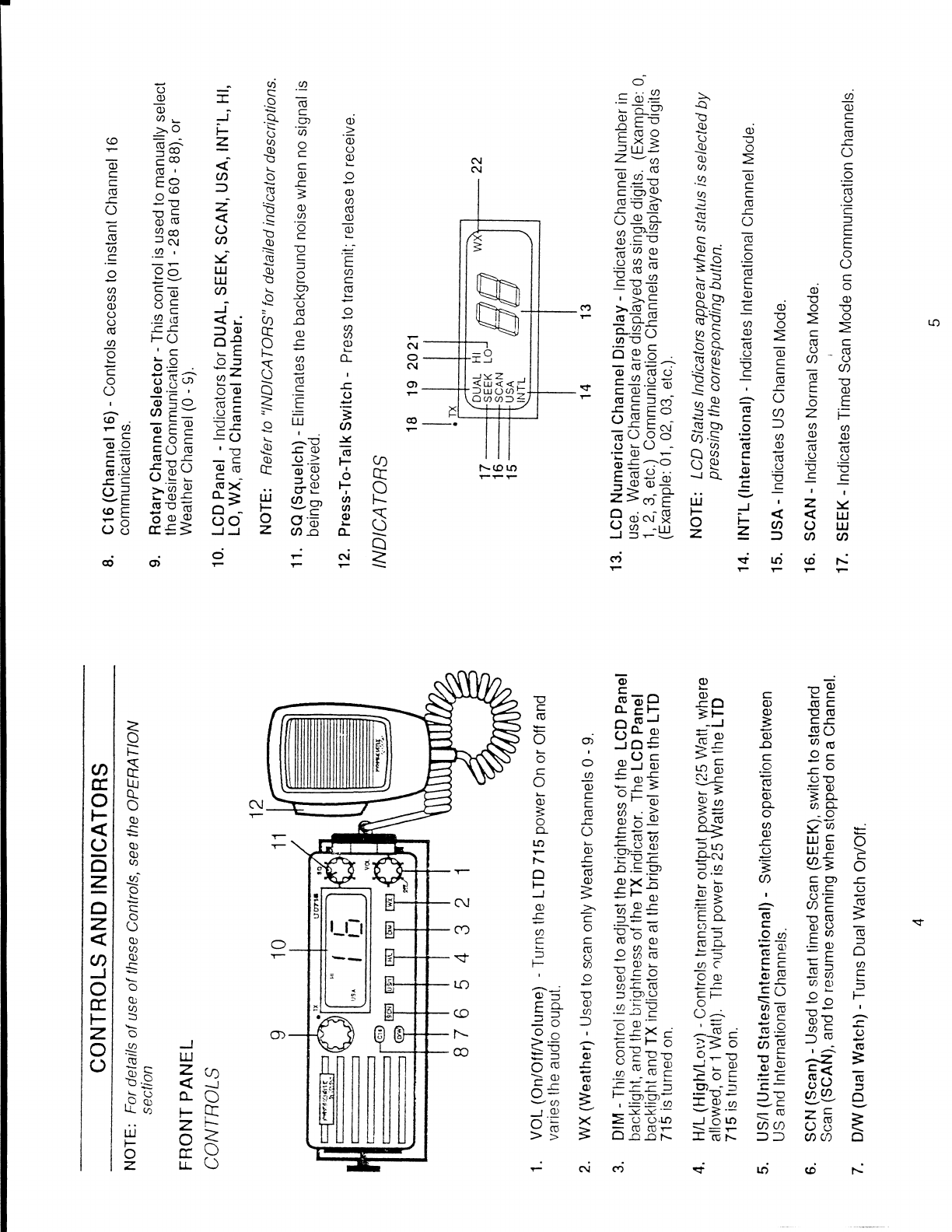 Page 4 of Uniden Two-Way Radio LTD 715 User Guide