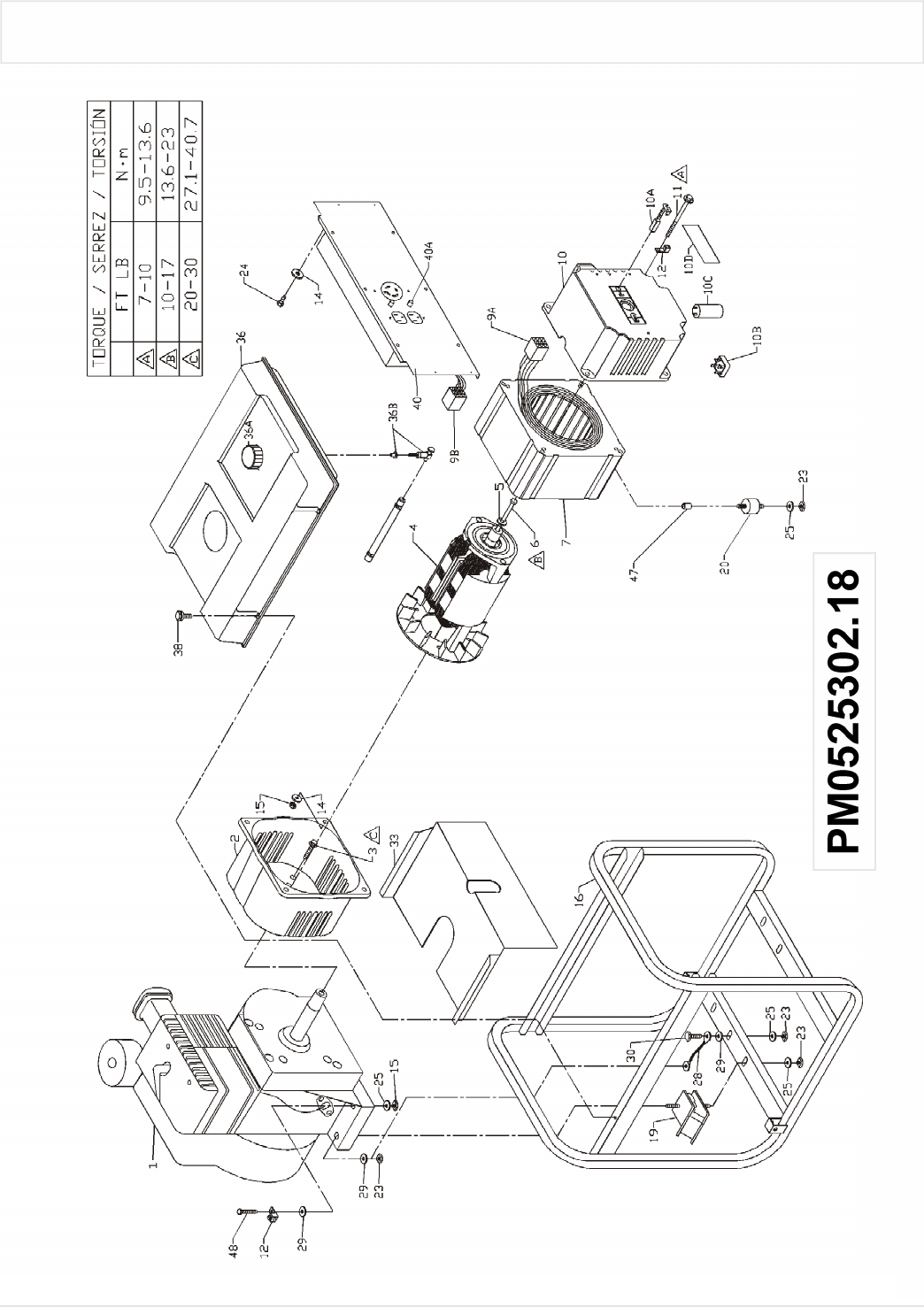 Page 5 of Coleman Portable Generator PM0525302.18 User
