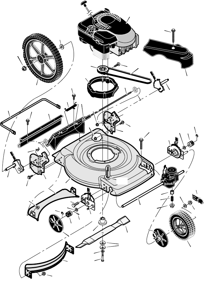 Page 32 of Murray Lawn Mower 22
