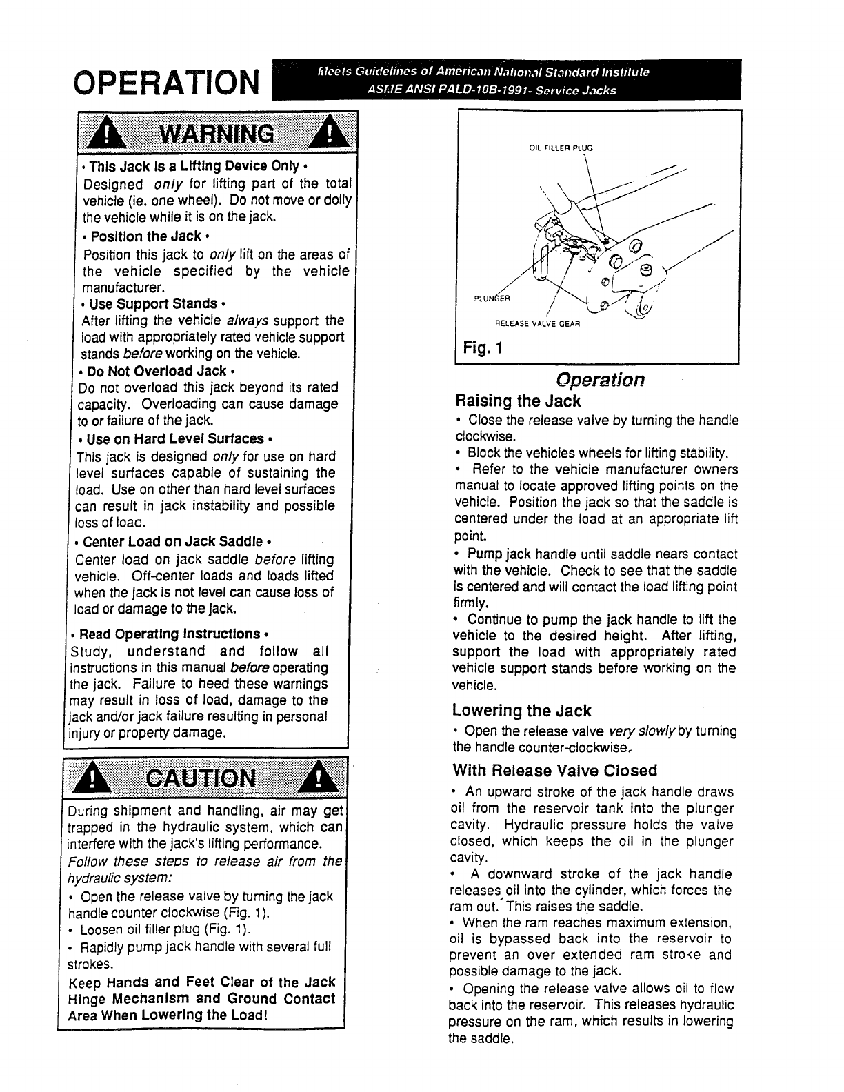 Page 2 of Sears Automobile Parts 875.501152 User Guide