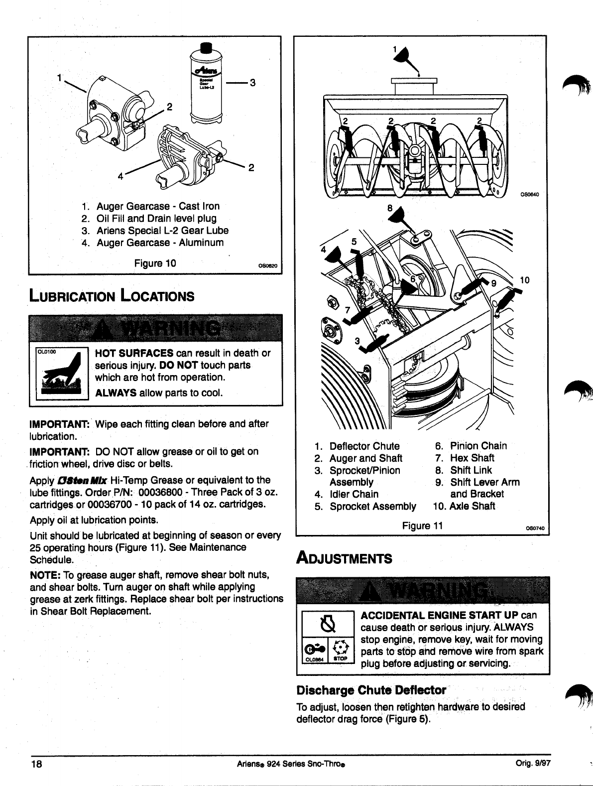 Page 21 of Ariens Snow Blower 100-ST824 User Guide