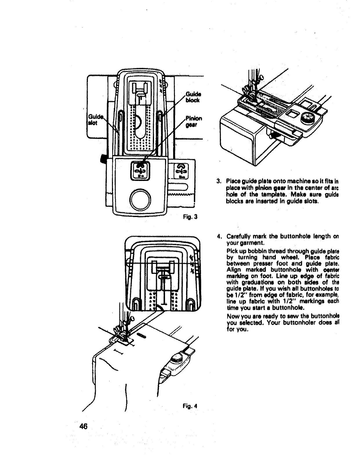 Page 47 of Sears Sewing Machine 17892 User Guide