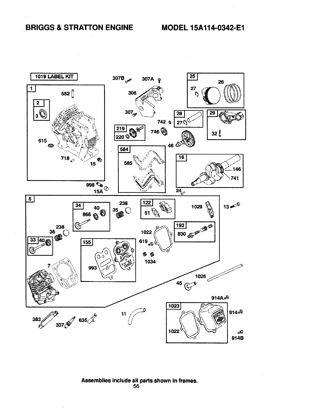 Page 56 of Craftsman Snow Blower 536881851 User Guide