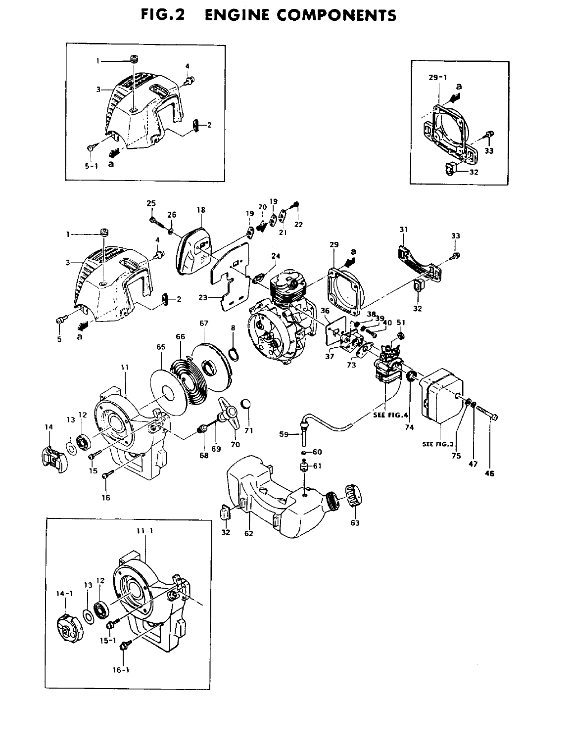 Page 4 of Tanaka Brush Cutter TBC-4000/5000 User Guide