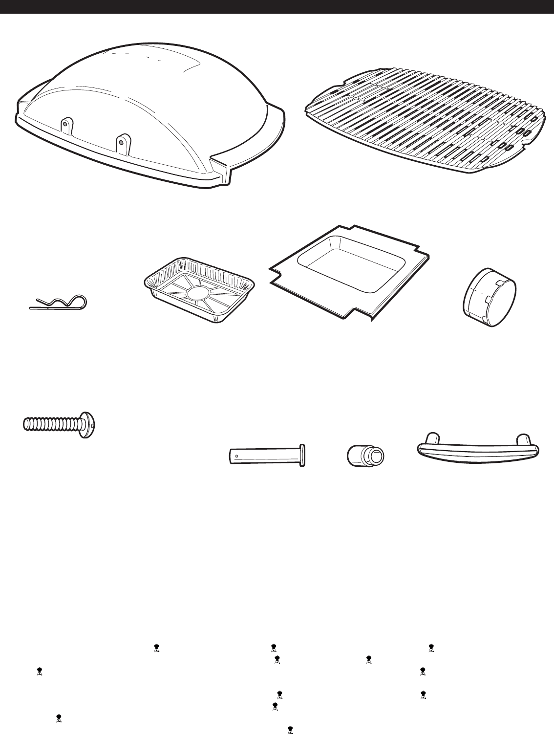 Page 2 of Weber Gas Grill 386002 User Guide