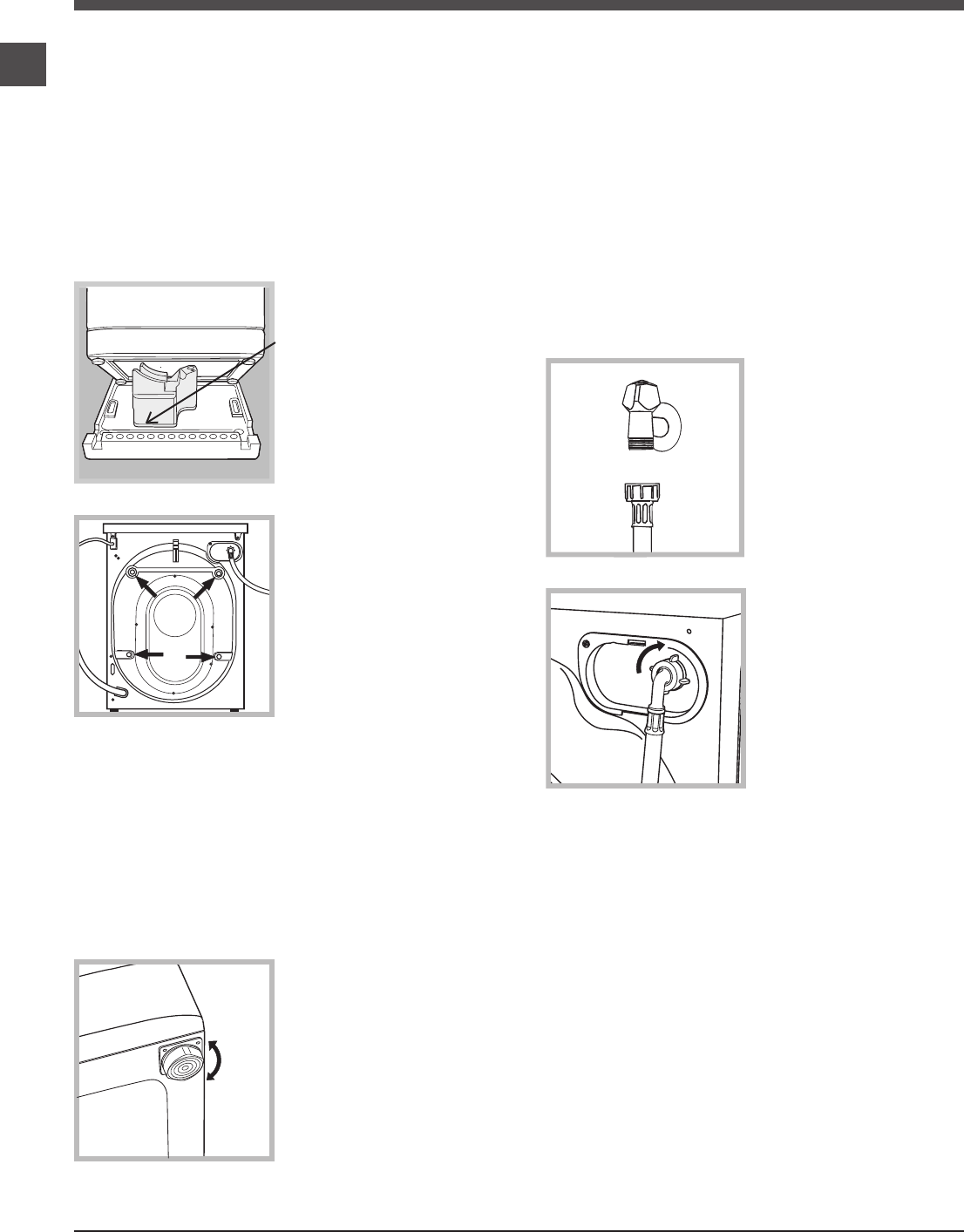 Page 2 of Hotpoint Washer/Dryer WMAQB 721 User Guide