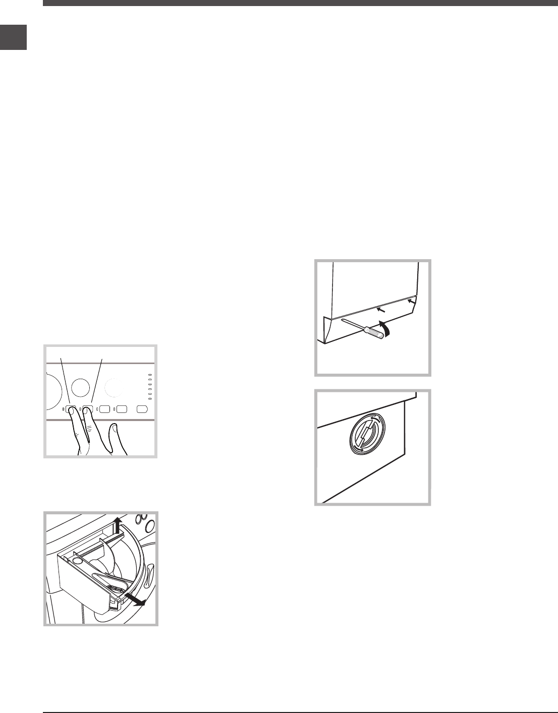 Page 6 of Hotpoint Washer/Dryer WMAQB 721 User Guide