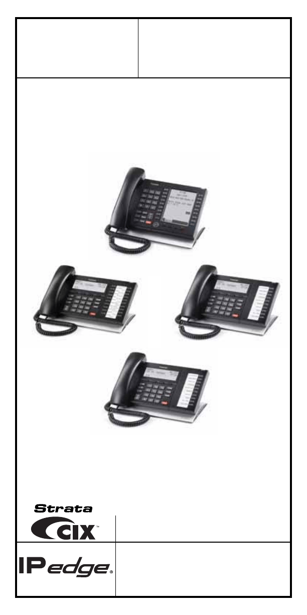 Toshiba Telephone Business Telephones User Guide