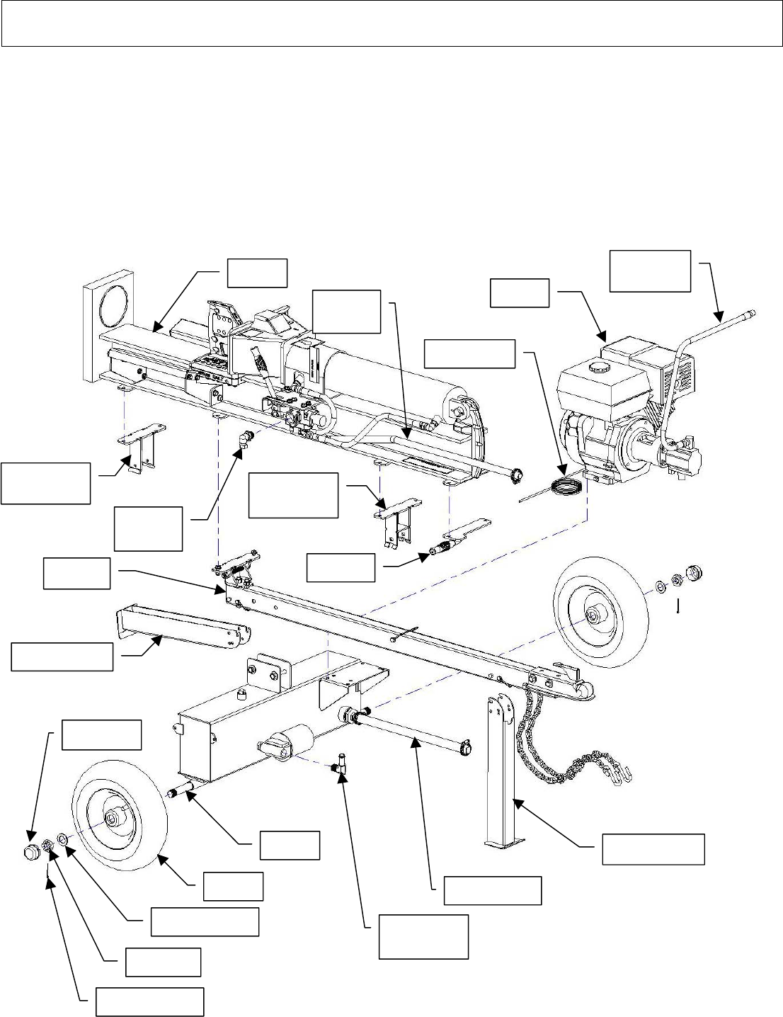 Page 38 of North Star Log Splitter M1108D User Guide
