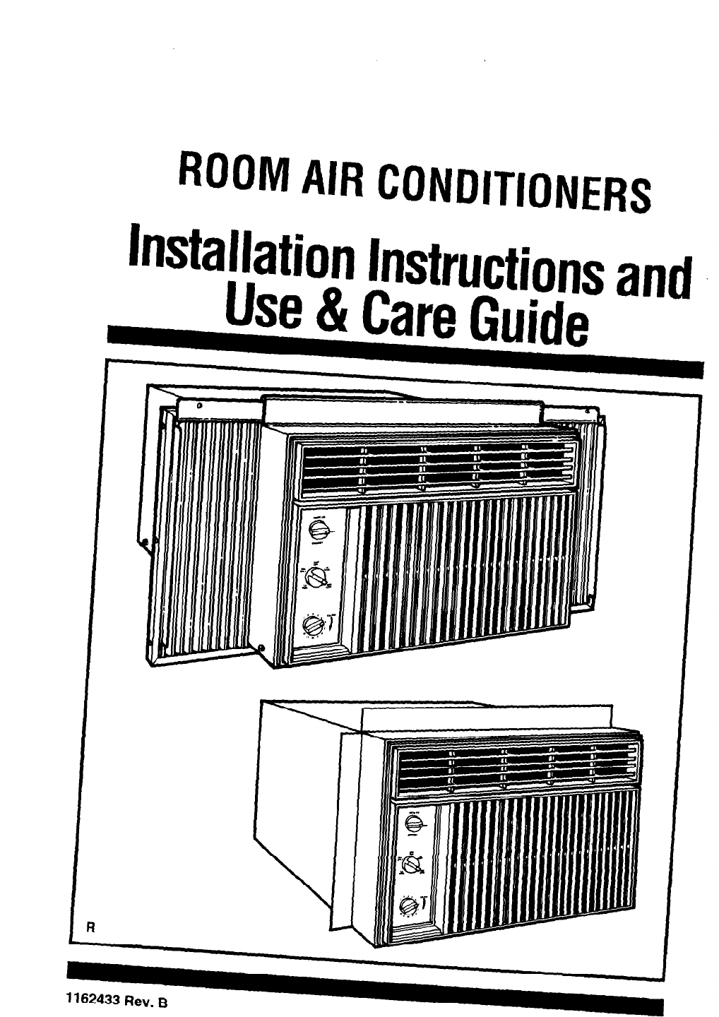 Whirlpool Air Conditioner ACC602XP0 User Guide