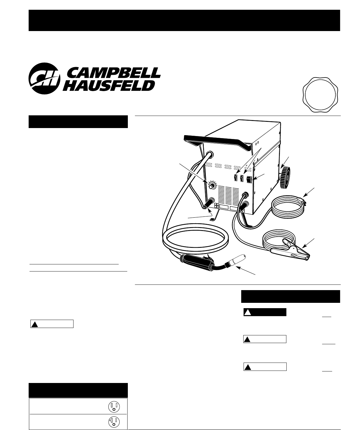 Campbell Hausfeld Welder Manual