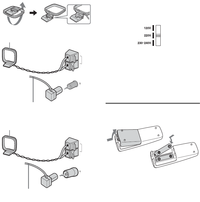 Page 8 of Aiwa Speaker System AWP-ZX7 User Guide