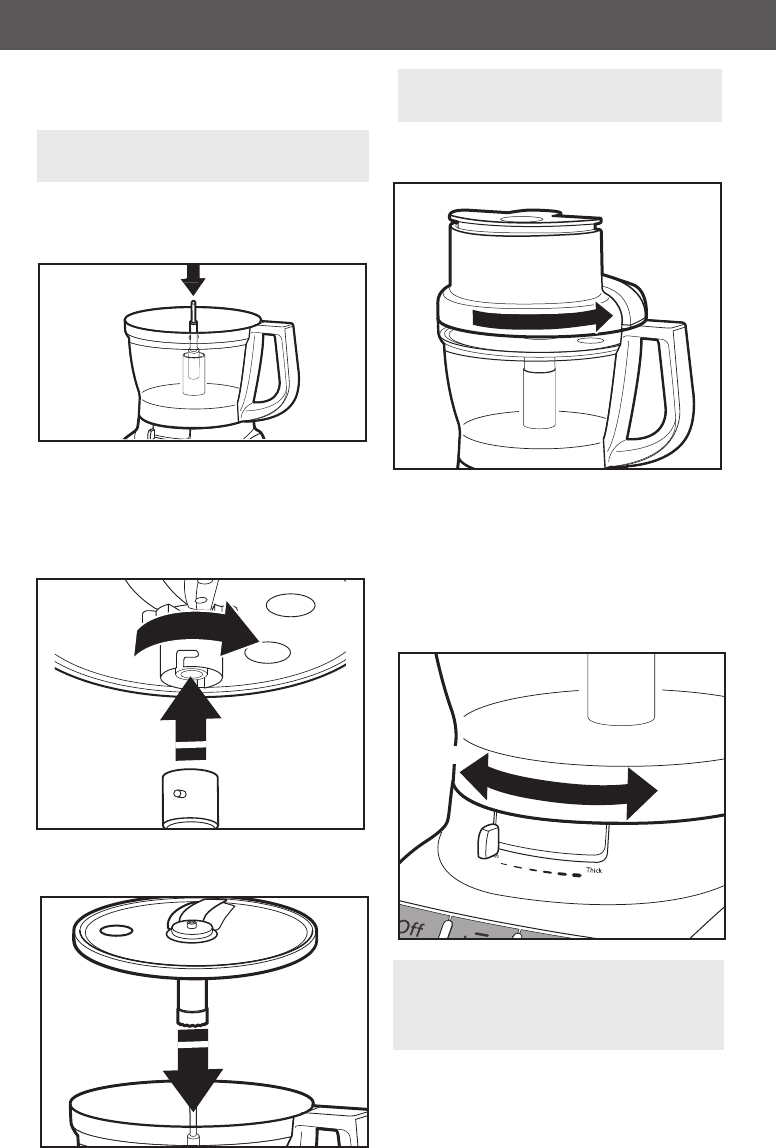 Page 12 of KitchenAid Food Processor KFP1333 User Guide