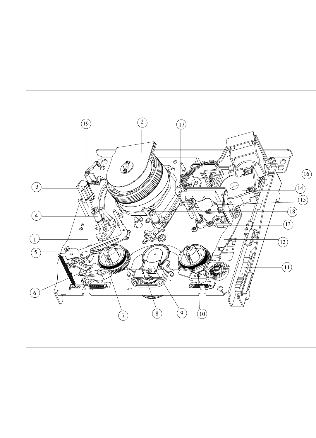 Page 3 of Daewoo VCR VCR MECHANISM UNIT User Guide
