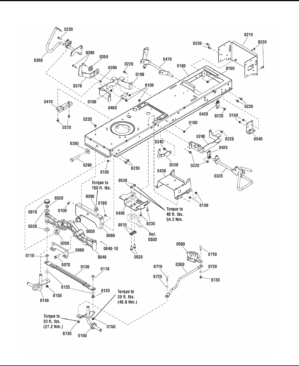 Page 8 of Briggs & Stratton Lawn Mower 500 User Guide