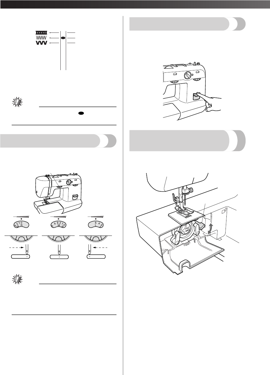 Page 15 of Brother Sewing Machine XL-5600 User Guide