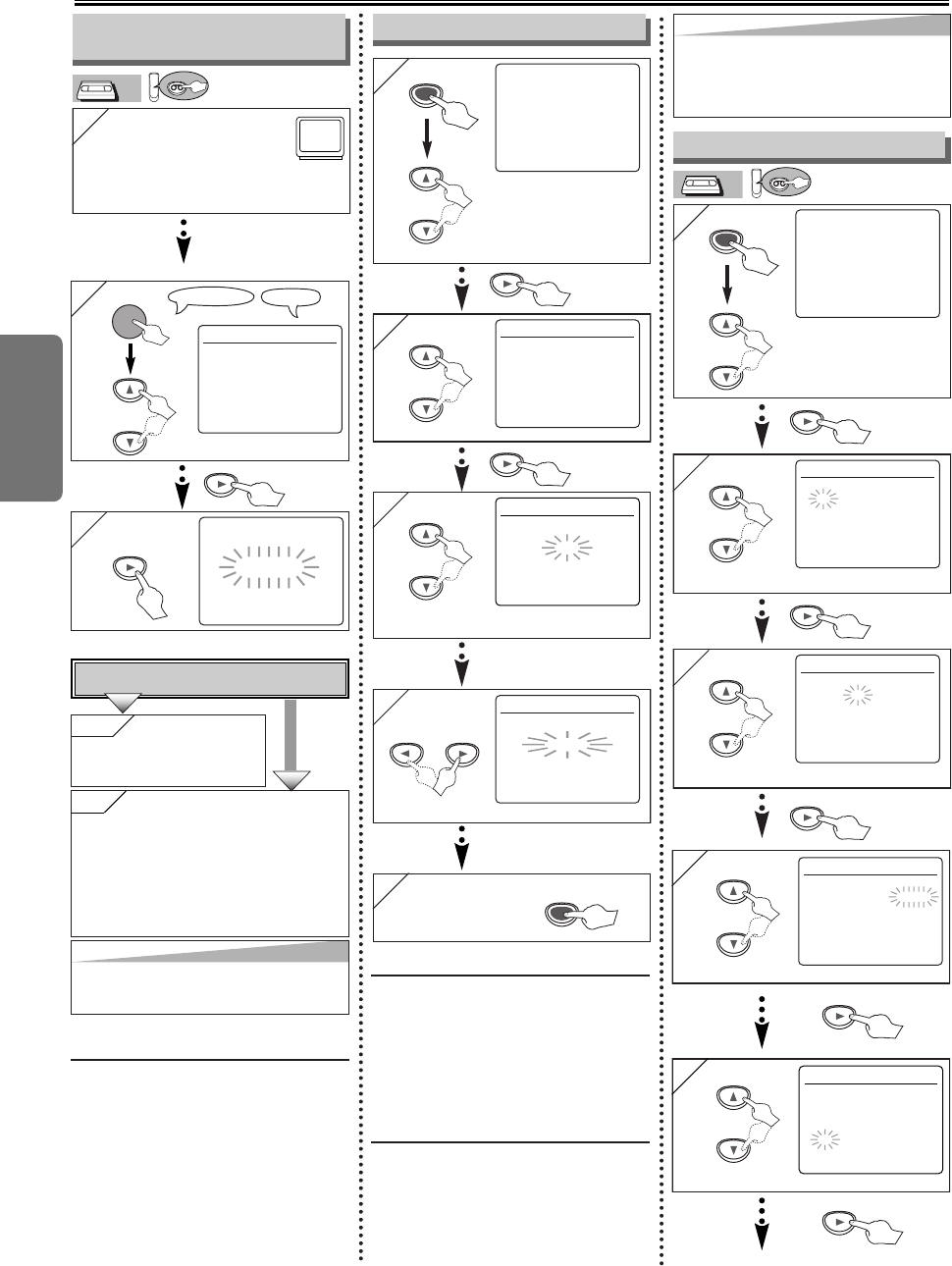 Page 8 of Sylvania DVD Player SRDD495 User Guide