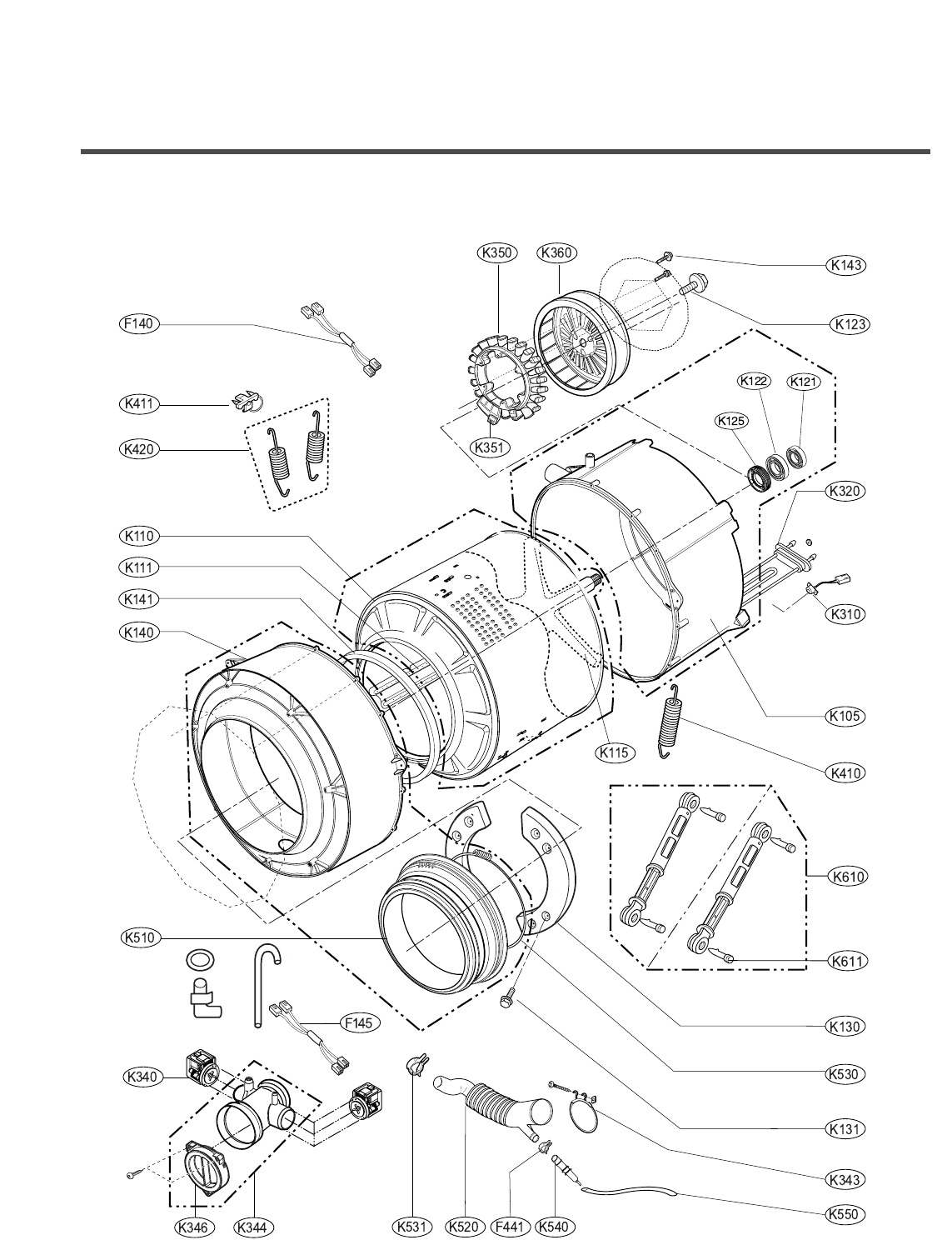 Page 36 of LG Electronics Washer 14220(5)FDB(N) User Guide