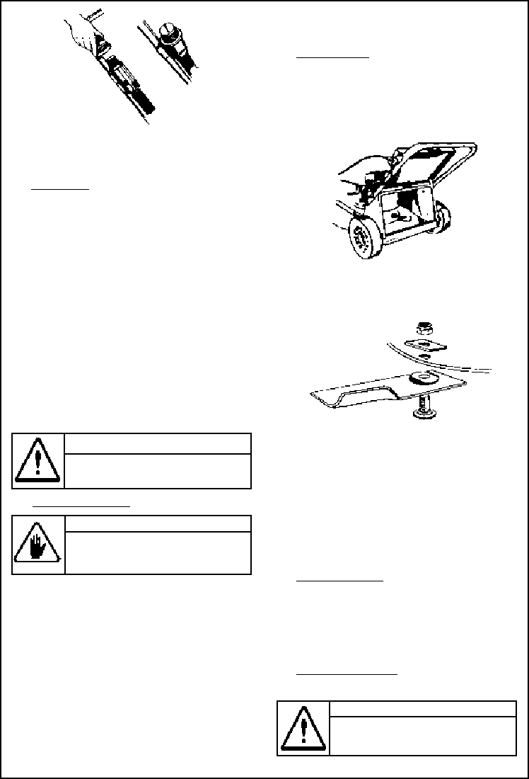 Page 6 of Rover Lawn Mower 30, 35, 70, 75 User Guide