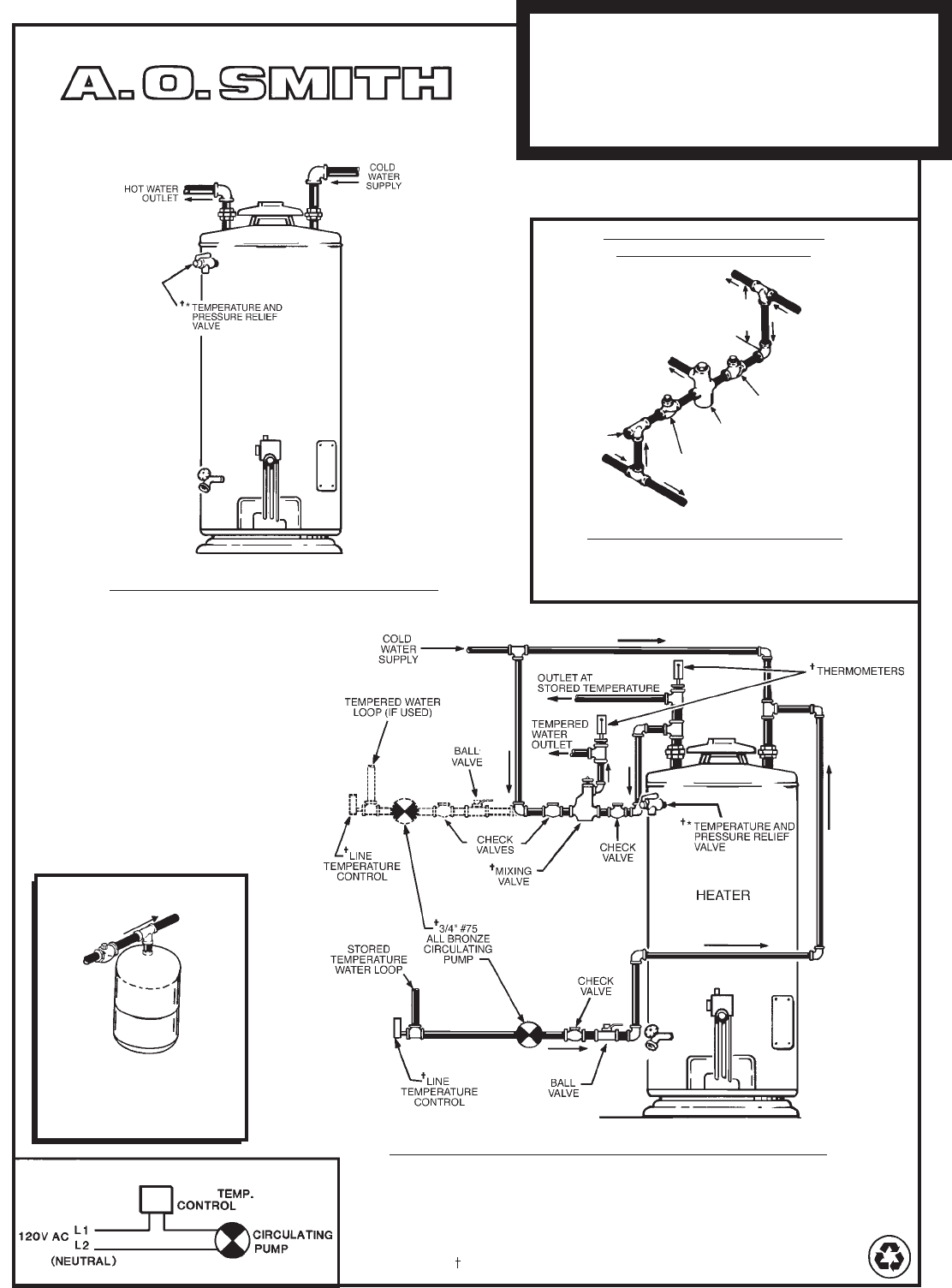 Ge Water Heater Thermostat Wiring Diagram