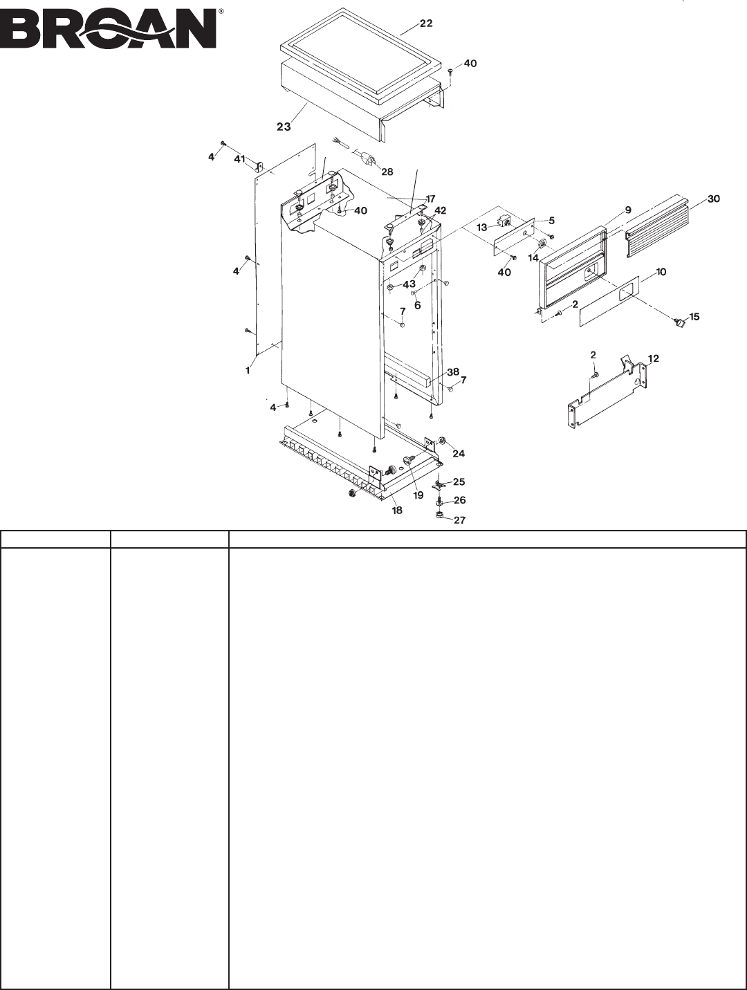 Page 9 of Broan Trash Compactor 1050-J User Guide