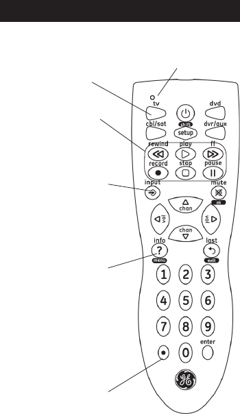 Page 18 of GE Universal Remote 20622 User Guide