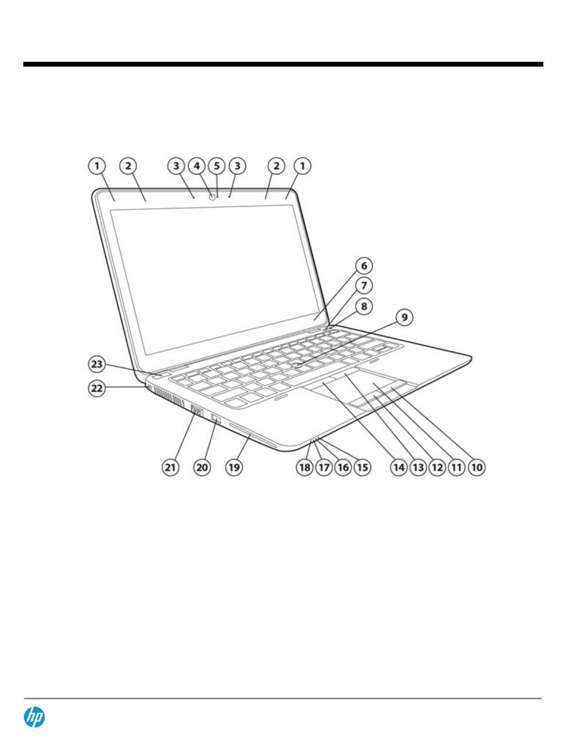 HP (Hewlett-Packard) Laptop F2Q24UTABA User Guide