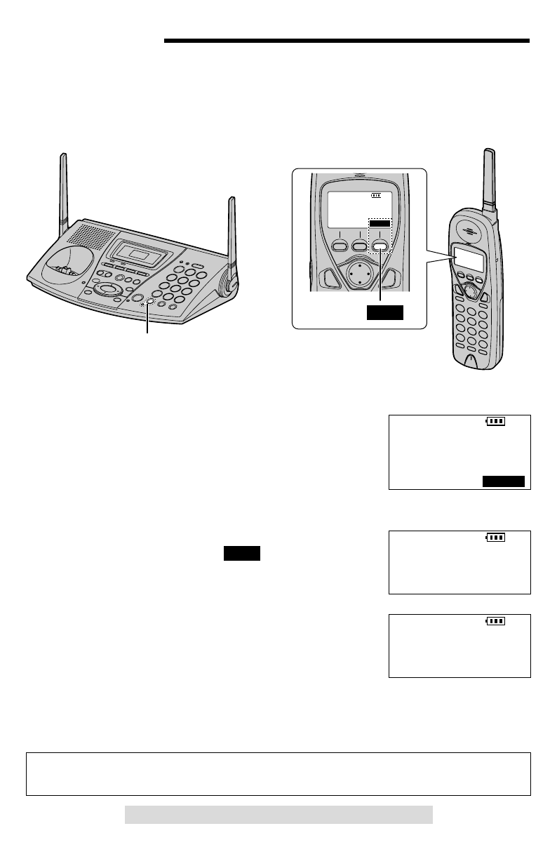 Page 3 of Panasonic Telephone KX-TG2740 User Guide