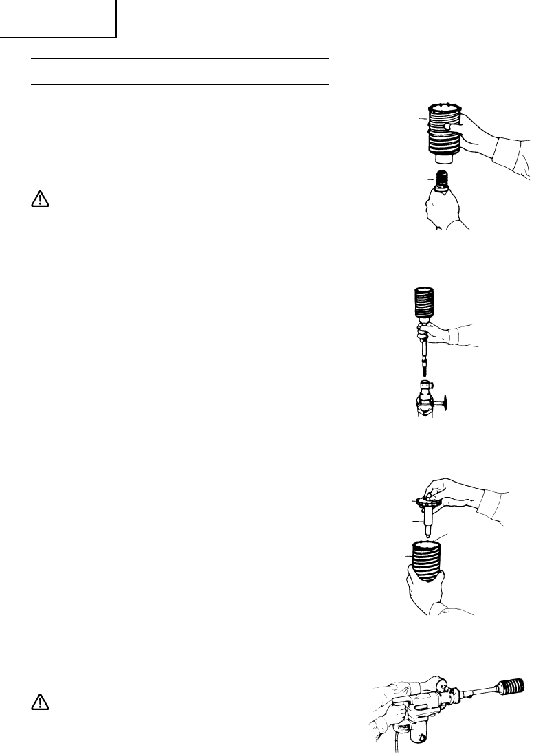 Page 54 of Hitachi Power Hammer DH 38YE User Guide