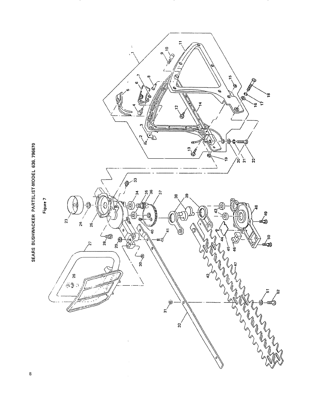 Page 8 of Craftsman Trimmer 636.79667 User Guide