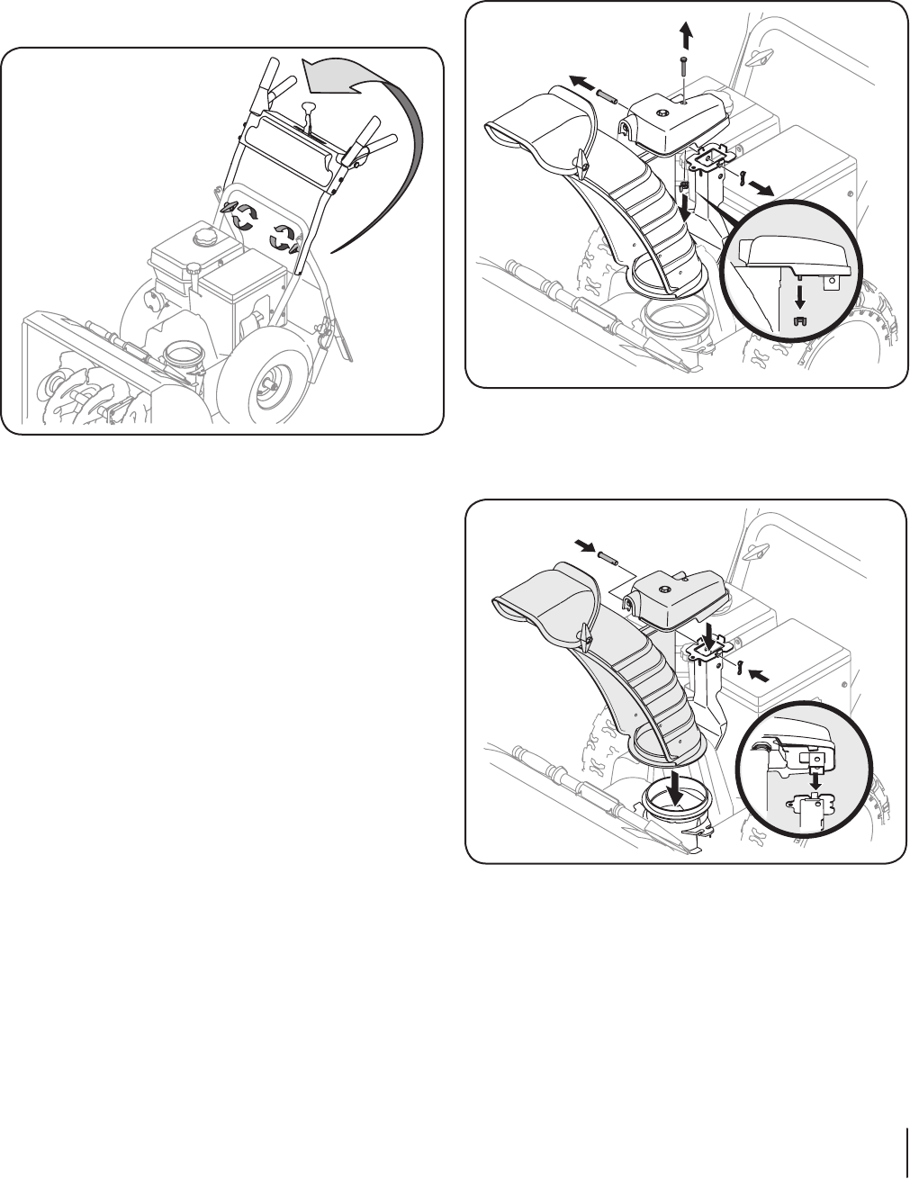 Page 11 of MTD Snow Blower 500 Series & 600 Series User