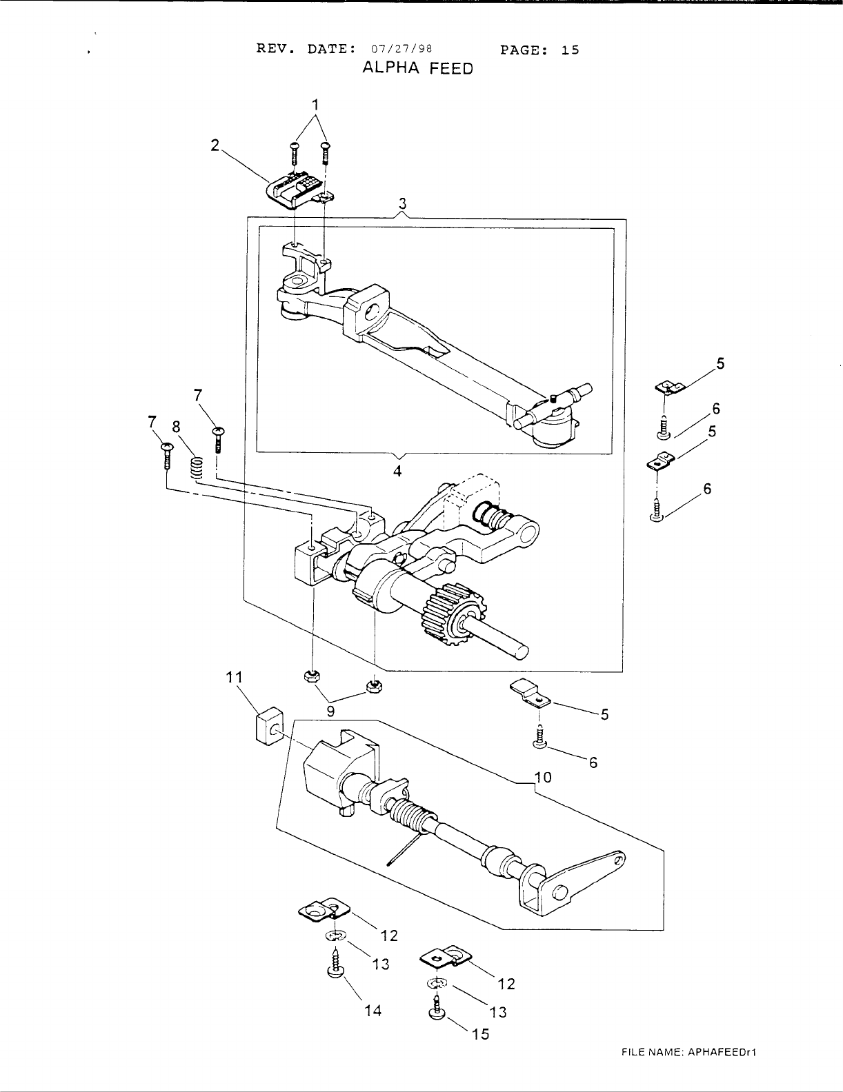 Page 17 of Singer Sewing Machine 6412 User Guide