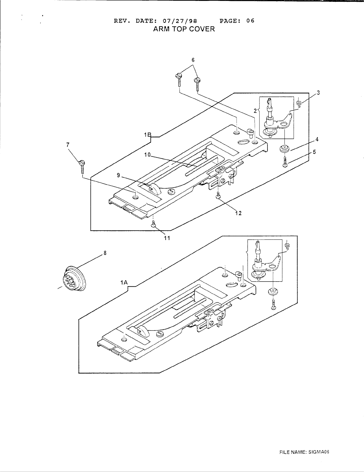 Page 8 of Singer Sewing Machine 6412 User Guide