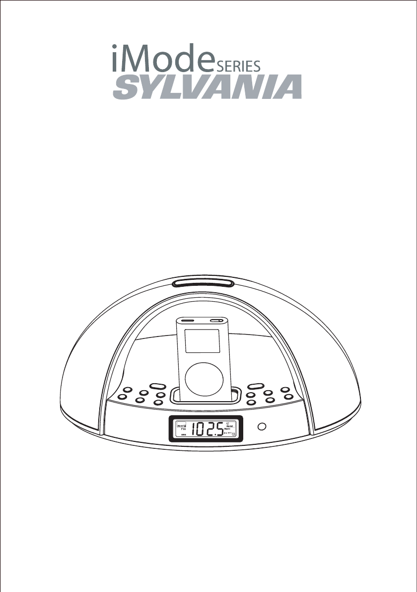 Sylvania MP3 Docking Station SIP220 User Guide