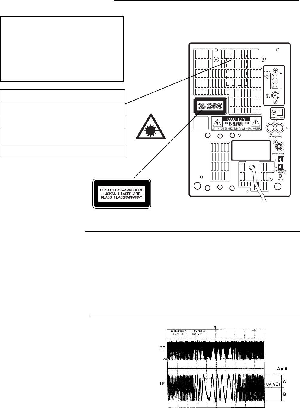 Page 3 of Sanyo Stereo System DC-DA370 User Guide