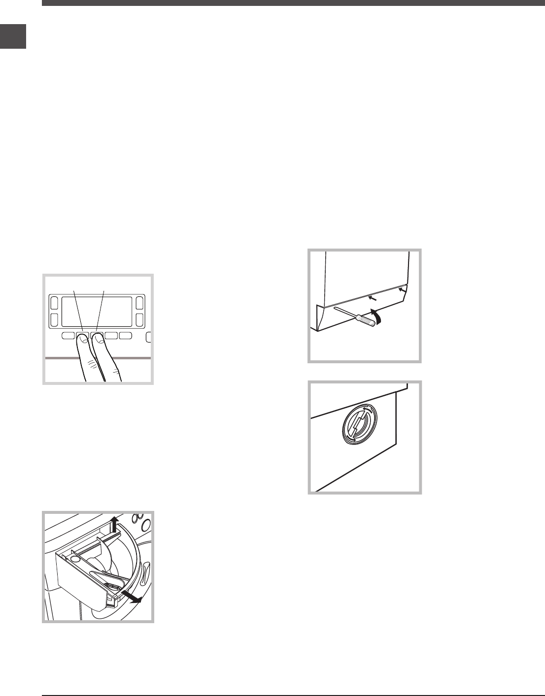 Page 6 of Hotpoint Washer WMUD 962 User Guide