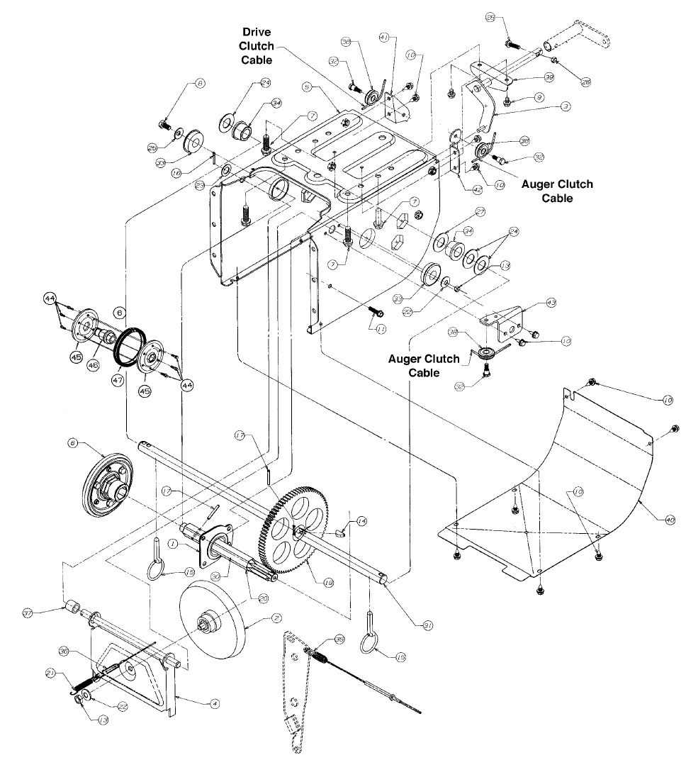 Page 24 of MTD Snow Blower E614E User Guide