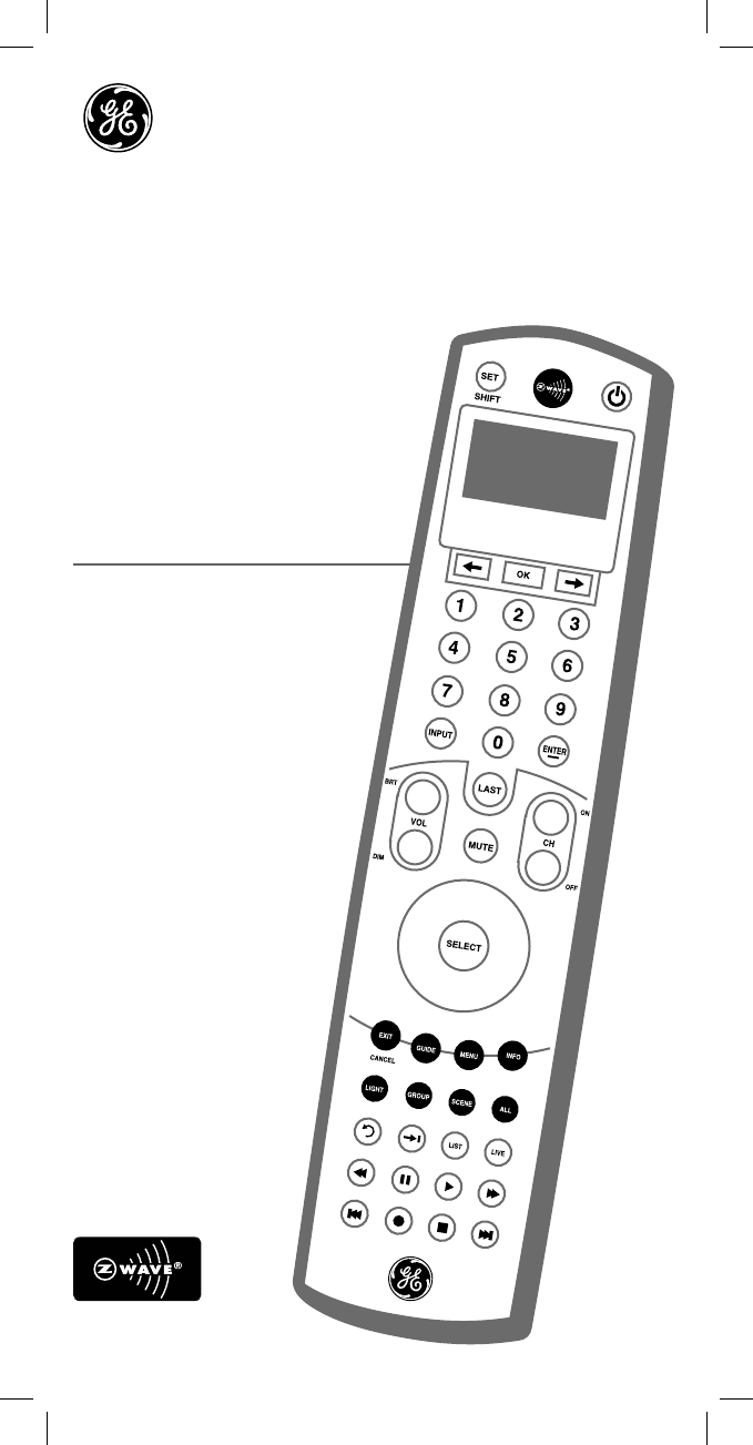 One for all universal remote guide