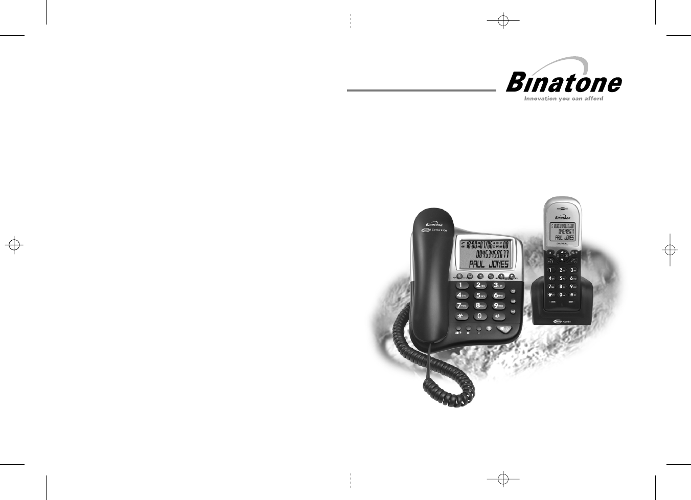 Binatone Cordless Telephone 2300 User Guide