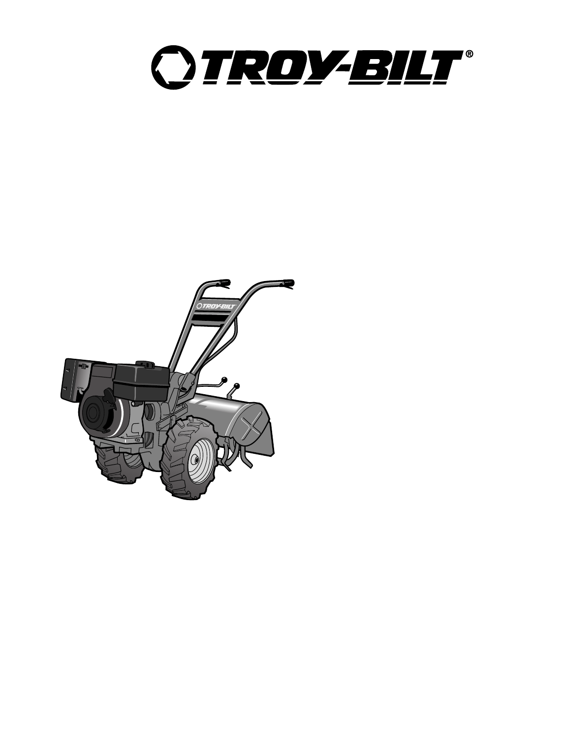 Troy-Bilt Tiller 682J, E686N, E682L User Guide