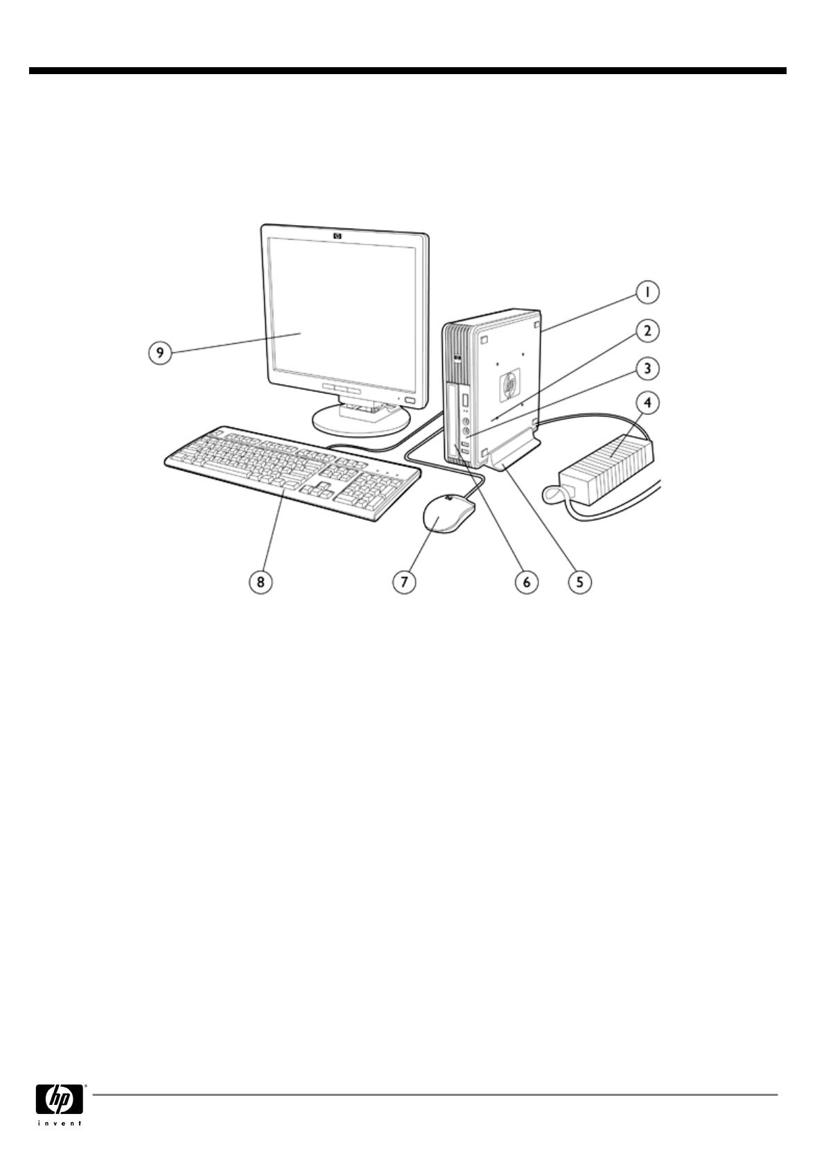 HP (Hewlett-Packard) Personal Computer dc7900 User Guide