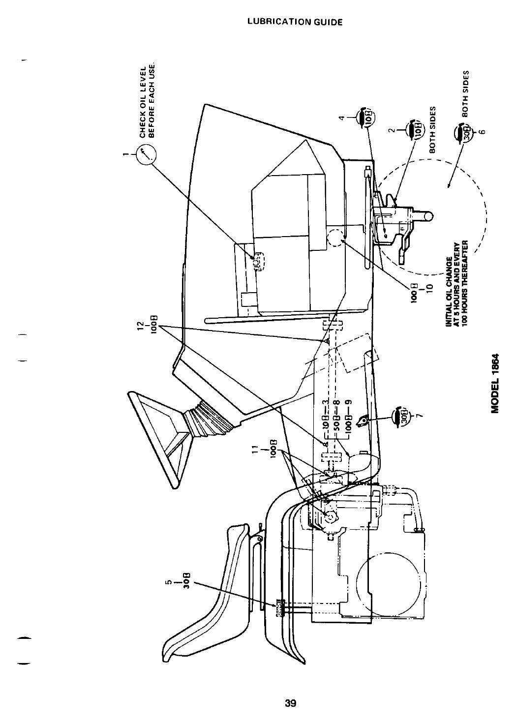 Page 39 of Cub Cadet Lawn Mower 1864 User Guide