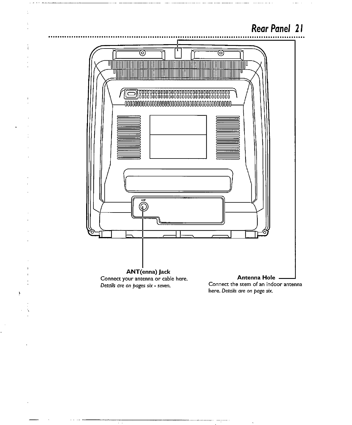Page 21 of Magnavox VCR CCX132AT User Guide