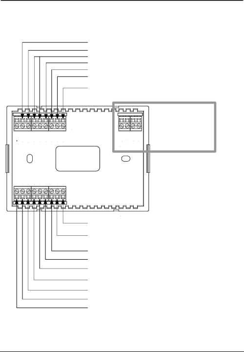 small resolution of  hvac thermostat wiring diagram on page 12 of crestron electronic thermostat chv tstat user guide