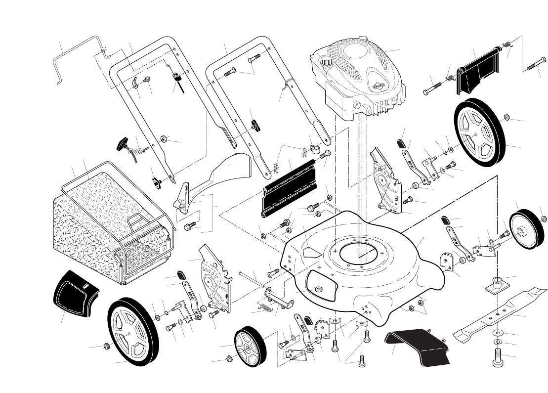 Page 2 of Poulan Lawn Mower PR625N21RH3 User Guide